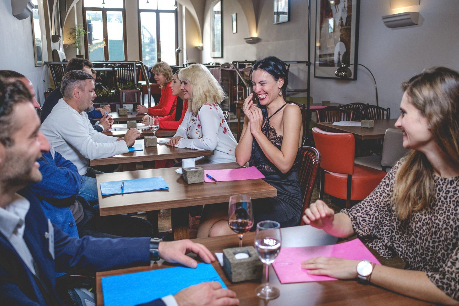 Jak najít speed dating událost